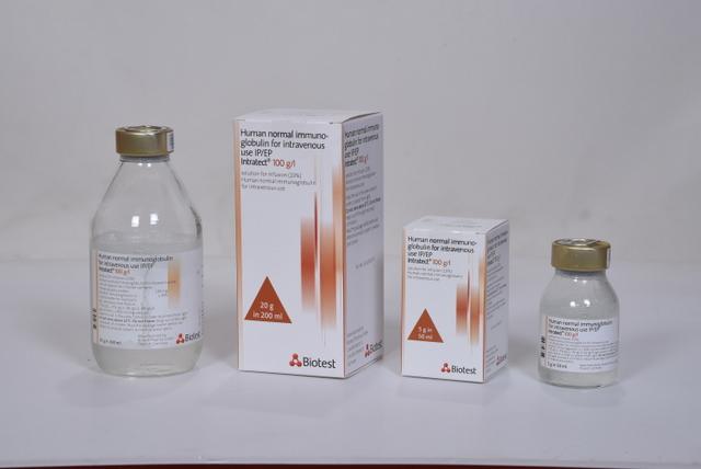 Human normal immunoglobulin (IVIg)   Paviour